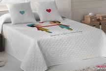 Textil hogar / Viste tu cama con las mejores sábanas y fundas nórdicas, mantén una correcta higiene con fundas y protectores y elige un relleno nórdico para las noches de frío.