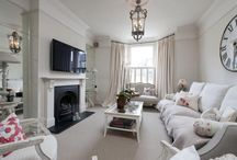 modern Victorian with tv