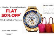 Luxury Watches / At Digaaz International offering Luxury Watches of AUDEMARS PIGUET, ROLEX, TAG HEUER, OMEGA, HUBLOT, CHOPARD etc.