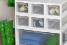Closet Storage and Organization / Are you afraid to open that closet door? Get organized with Sterilite's finest!