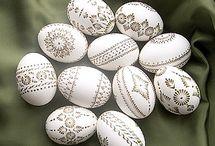 Velikonoce-kraslice a vajíčka