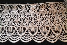 Lace ideas for ruffs