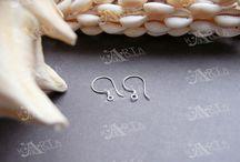 Sterling Silver Earring Hooks Earwire