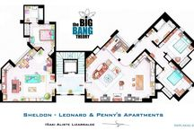 Sheldon and Leonard apartment