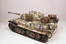maquette tigre