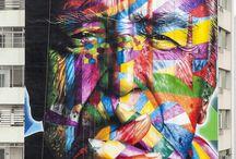Arte Urbana / Dos muros das ruas pro nosso painel.