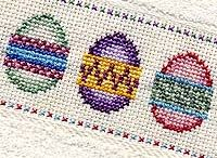 CROSS STITCH: Easter/Spring