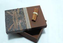 Caixa de aromas Canela Café Anis