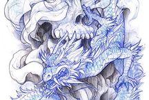 Tetovania S Drakom