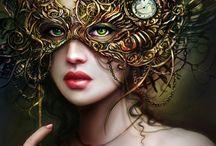 Christmas Masquerade Ball / Keep everyone guessing.