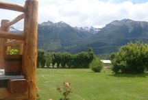 Villa Lago Rivadavia Parque Nacional Los Alerces, Argentina