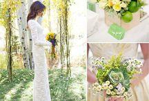 Light Spring / Summer Wedding Theme