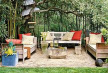 outdoor landscaping, patios / by Kimberly Strange-Small