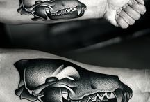 Pointilism tatt / Tattoo