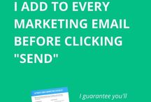 Email Marketing Tips and Tricks / Email marketing tips and tricks updated regularly - come back often to learn the best tips to increase your email list and convert more to sales.