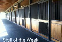 Lucas Equine Stall of the Week / Features Lucas Equine Stall Doors