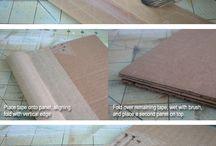 kağıt-karton işleri / kağıt, karton, mukavva, hediye paketi, diy