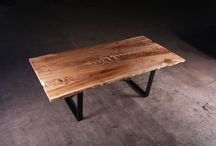 Sustainably Salvaged Hardwoods - Handmade Dining Tables