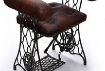 Stoelen/meubels/artdeco