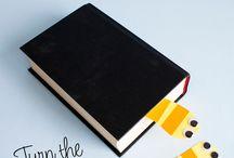 knihy a záložky