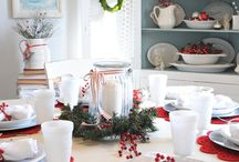 Tablescapes_Christmas / ideas and inspiration for setting a beautiful table.
