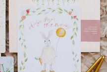 bunny invitation