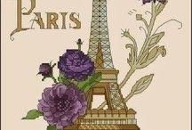 Cross stitch / Paris