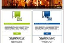 Site Teatrali / Projeto do novo site para o Teatro das Artes e Teatro dos Grandes Atores, desenvolvido em 2011 pelo nosso Diretor de Criação, período em que ainda prestava serviço para agências. http://teatrali.com.br/