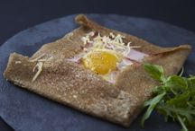 Bgreen Organic Buckwheat Flour / Example of an easy recipe Protein rich Buckwheat crêpe, Galettes in France. Made with Bgreen Food Bake More Organic, GF, Buckwheat Flour.   #buckwheat #organic #bakemore #flour #nongmo #glutenfree  Just 3 ingredients: • 2 cups Bgreen Food Organic Buckwheat Flour (330 g) • 2 tsp salt (recommend Real Salt) • 3⅓ cups water (750 ml) • 1 egg (or substitute.)