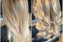 Blonde balayage / Blonde balayage highlights
