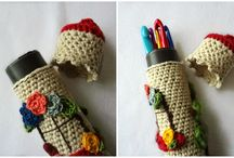 Craft - Crochet hook & sewing accessory cases