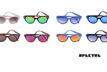 SPEKTRE Sunglasses / SPEKTRE Sunglasses is Milan-based sunglasses and since 2009 it has been riding the fashion scene with its trendy high-quality eyewear that showcases boldly coloured and mirrored CR39 Zeiss and Silo lenses. The lenses rests nonchalantly on frames dressed in an assortment of colours from solid black to transparent plastic or tortoise-shell patterns.  SHOP NOW > http://finaest.com/designers/spektre-sunglasses