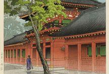 Japanese Wood Block Prints of Rain / by Anna Pajunen