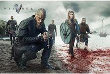 Vikings / Vikings, la serie televisiva canadese che racconta, in chiave romanzata, le avventure del guerriero vichingo Ragnarr Loðbrók.