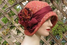 Cloche hat / 1920, 1930 for a textile art piece
