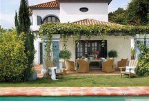 Pool, patio and backyard / by Jamie Farish
