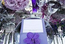 Purple and lavender Wedding Flowers