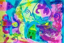 Art Lessons--Elementary / by Jennifer Barber