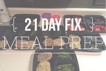 21-Day Fix Meal Plans/Prep