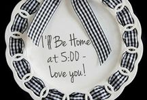 The Write Plate / The Write Plate has porcelain products that you can write on and wipe off making it easy and fun to celebrate all life's occasions