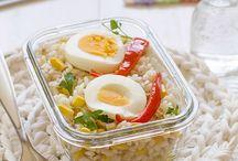 RECETAS PARA TUPPERWARE / Recetas comodas para comer fuera de casa y poder calentar en microondas