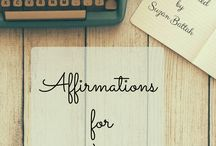 Affirmations for Creatives / Affirmations for Creatives, Artists, Singers, Performers, Writers