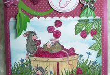 Lovely red raspberries