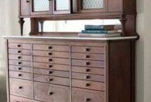 furniture | vintage storage / by Katie Hatch