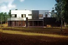 Projekty domów - house x_01 / http://dompp.pl/projekt-domu-house-x01,118.html