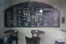 Coffee Shop Ideas / by Suzy Q Rasmussen