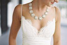 Lace Top Wedding Dress