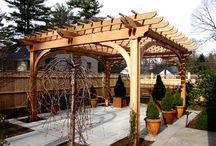 Pergolas / This unique pergola structure can be designed and built for beauty, function, shade or privacy.