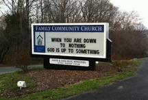 church bords