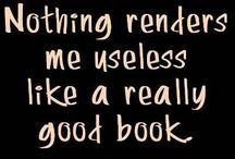 Books I love a good story!